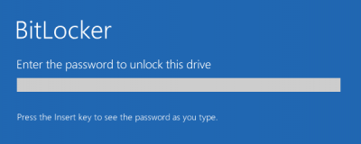 Setting up Windows System drive encryption without a TPM